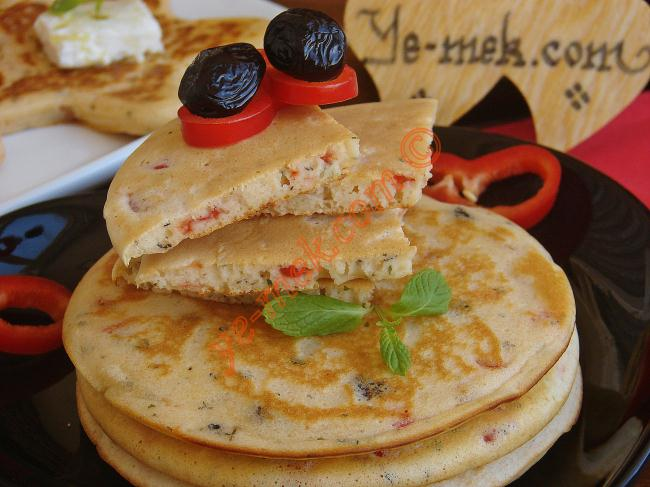 Salty Pancakes Recipe | Recipes (From Turkish Cuisine) In ...