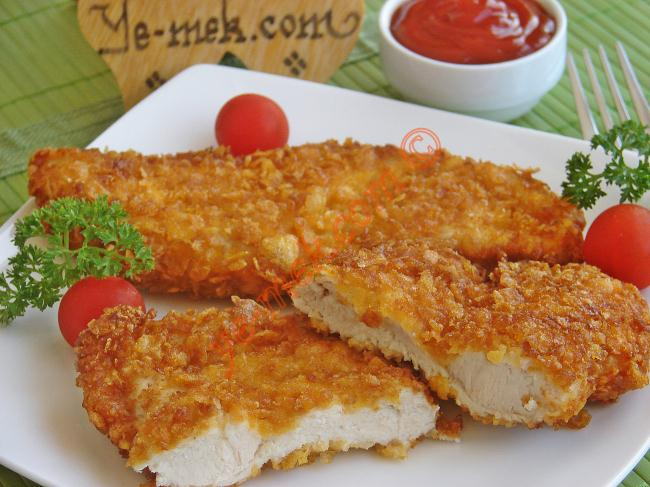 Cornflake-Crumbed Chicken Schnitzel Recipe