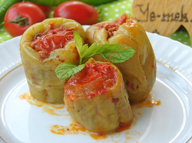 Stuffed Bell Pepper With Minced Meat Recipe