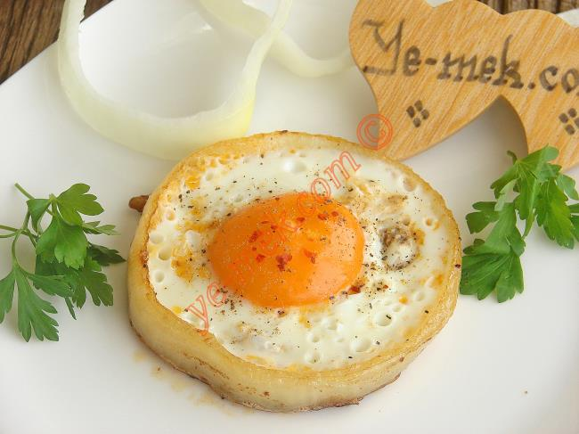 Egg In Onion Ring Recipe
