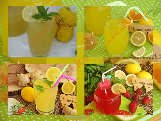 Lemonade Recipes