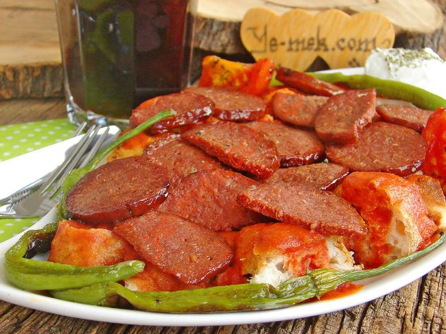 Iskender Kebab With Sujuk Recipe